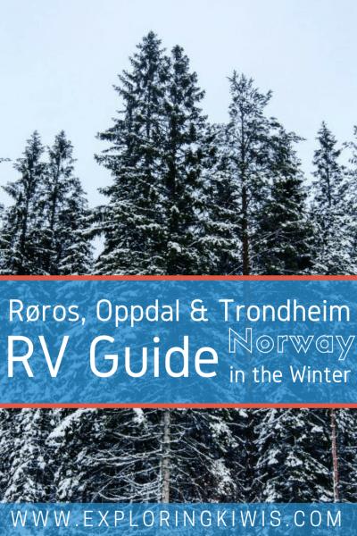 Røros, Oppdal & Trondheim, Norway in an RV