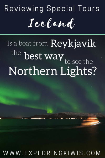 Special Tours Northern Lights Boat Tour review, Iceland, Reykjavik