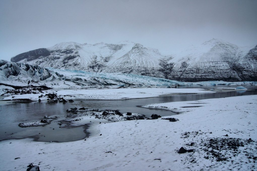 Skaftafell Glacier Iceland winter South East Iceland Itinerary Ring Road