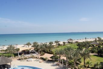danat jebel dhanna resort Abu Dhabi review beach