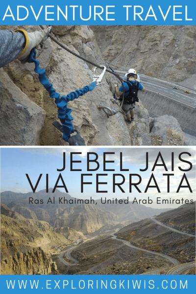 Jebel Jais Via Ferrata - RAK's newest adventure activity and the best in the UAE!