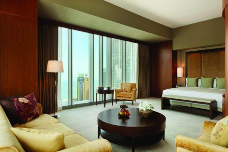 Shangri-La Hotel, Doha lounge