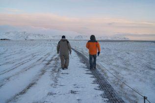 Snæfellsnes Peninsula Moonwalker Tours Iceland Bessi and Nathan Exploring Kiwis