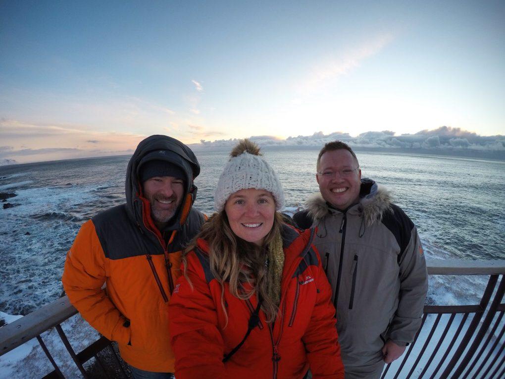 Snæfellsnes Peninsula Moonwalker Tours Iceland Nathan, Sarah and Bessi