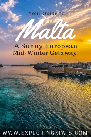 Malta - A guide to spending a long weekend on this European island.