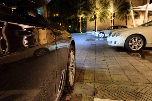 BMW 5 Series Shangri-La Doha Qatar private car