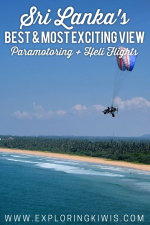 Looking for adventure in Sri Lanka? Yes you are! Check out paramotoring and heli rides at Bentota Beach - the most affordable adventure activities around!