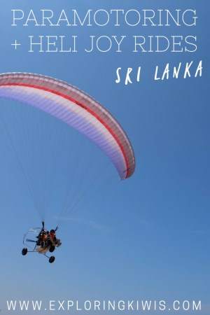 Fly high over Sri Lanka. Bentota Beach offers the most amazing paramotoring and heli rides at affordable prices. Find out why we recommend you take to the skies...