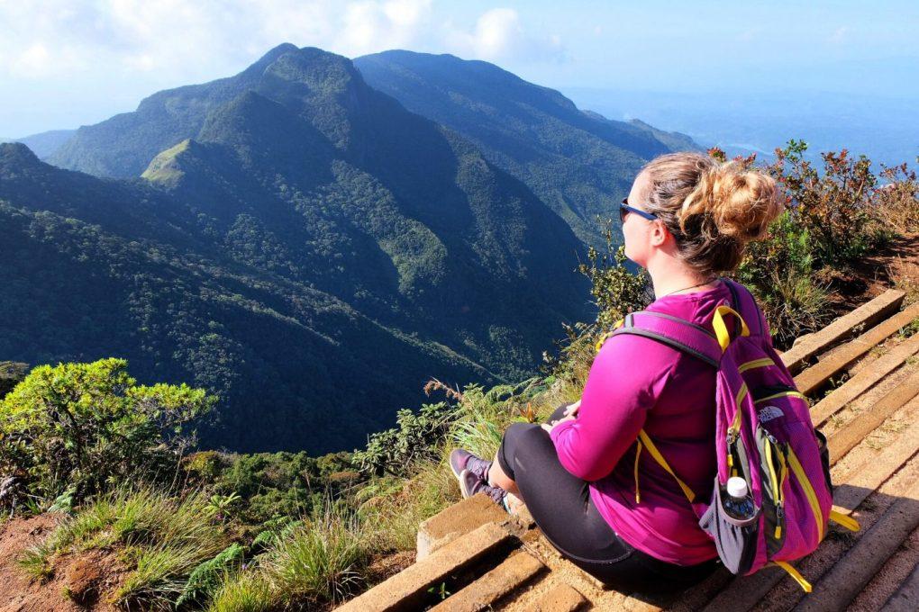 Sri Lanka tourism hiking Mini World's End