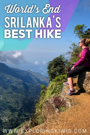 Sri Lanka's best hike, World's End, takes in gorgeous views, bush, rivers, waterfalls and more. A must-do on your Sri Lankan itinerary!