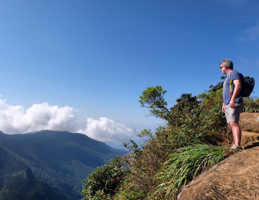 World's End Sri Lanka hike view