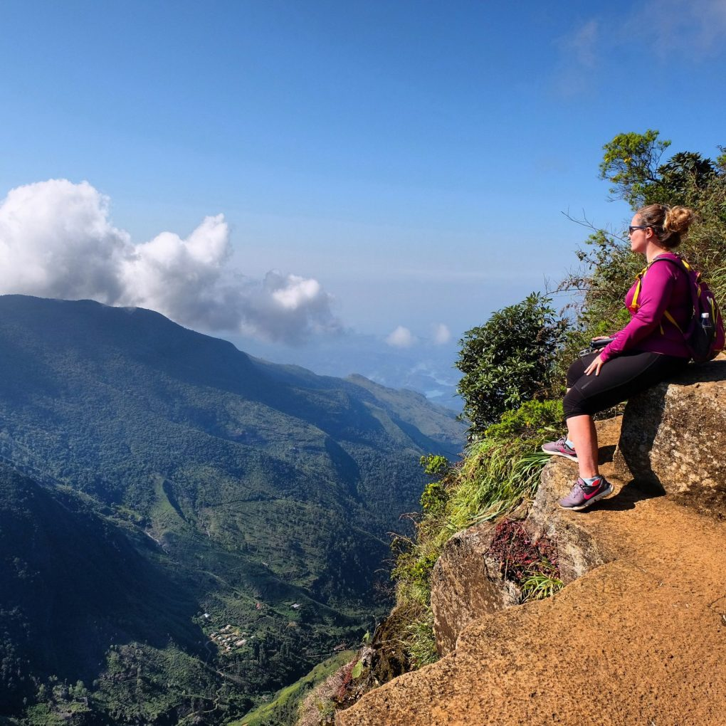 World's End Sri Lanka hike view