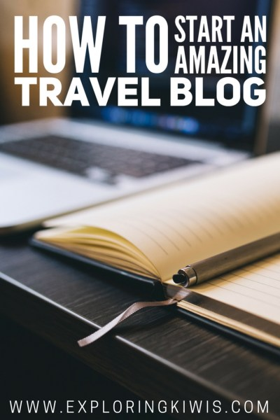 A practical guide to help you open your own travel blog. Hosting, URLs, social media, plugin suggestions, post basics and more - if you want to start travelling the world and writing about it, this guide is for you!