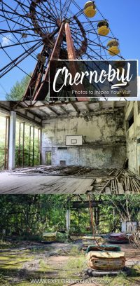 The site of the world's worst nuclear power plant accident may seem like a strange choice for tourists but it provides an unprecedented glimpse into Soviet life in 1986. These photos will inspire you to plan your own visit to the Chernobyl exclusion zone in the Ukraine.