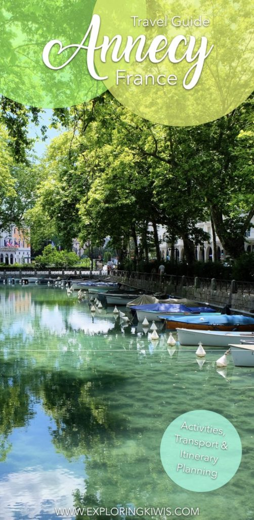 What to see and do in Annecy, the most beautiful town in France! With a stunning lake and the French Alps in the background, it's a must-see of your vacation. This guide includes things to do, transport and itinerary information.