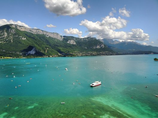 Lake Annecy France Mavic