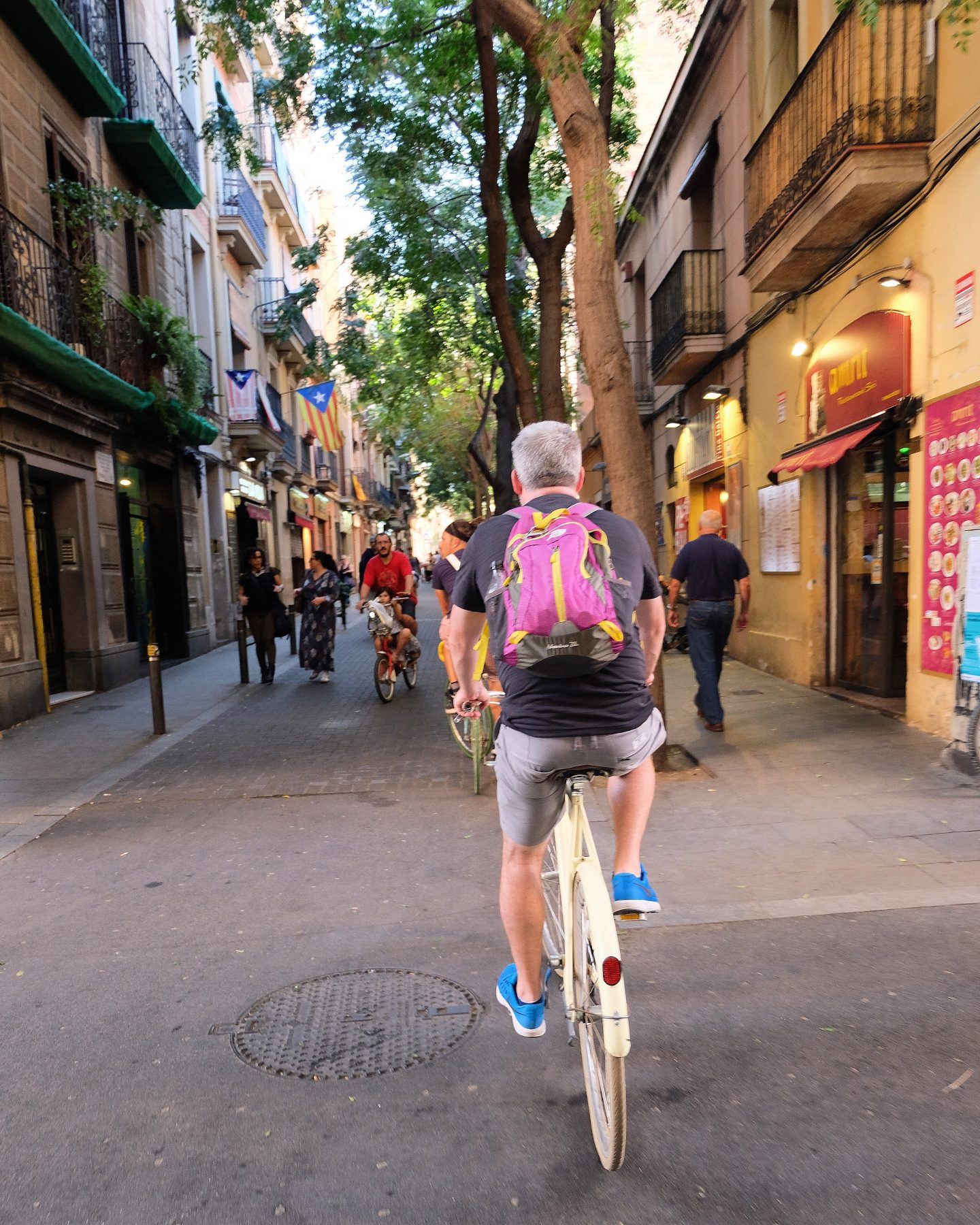 Bouncing Around Barcelona The Bike Tour With A Difference