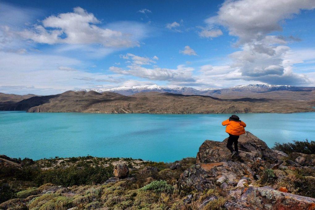 Torres del Paine lake