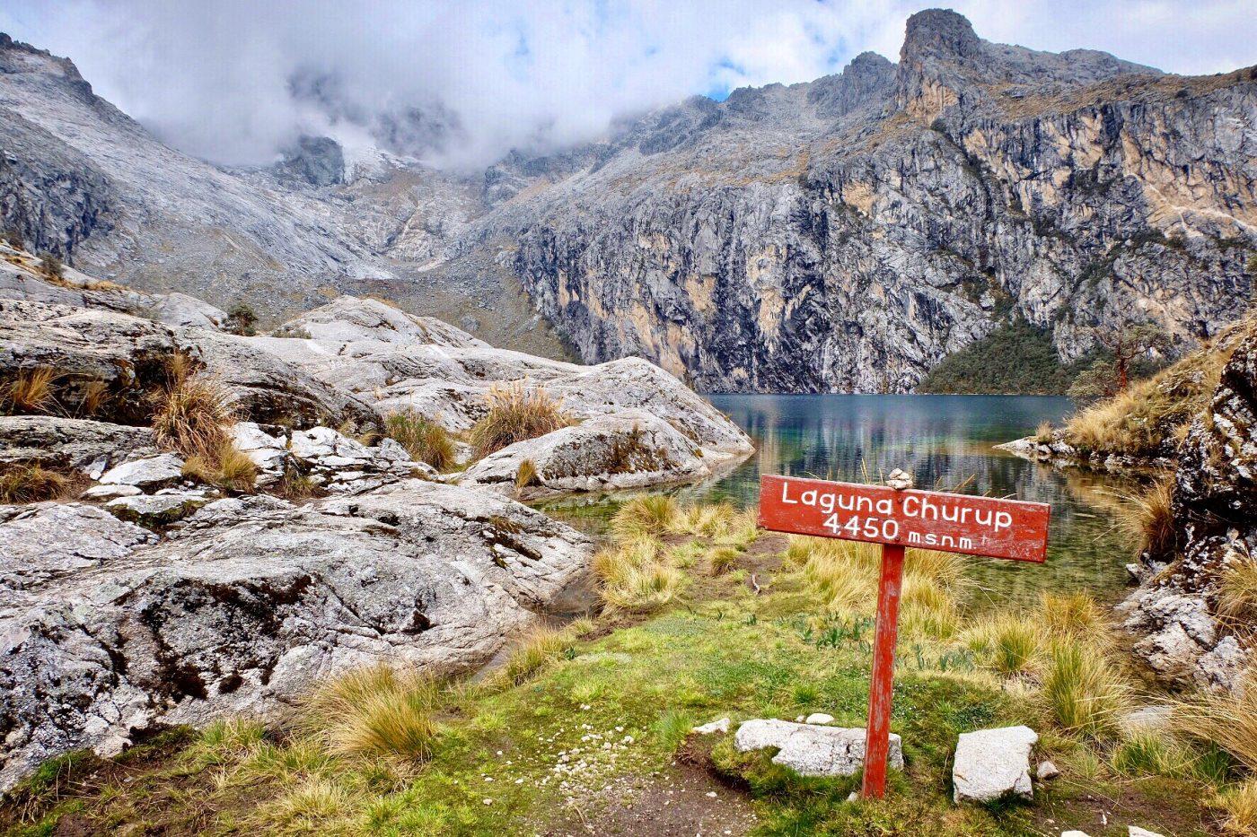Laguna Churup Huaraz Peru