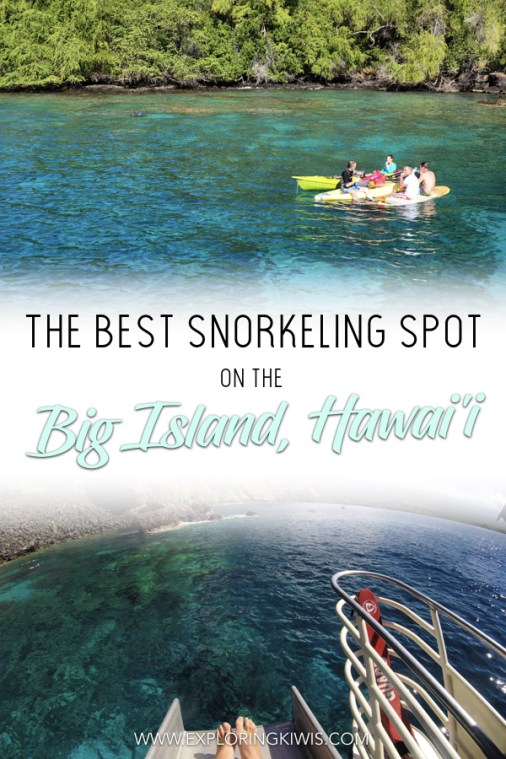 We've found the best snorkeling spot on the Big Island, Hawaii! Fair Wind Cruises will help take you there on an amazing day trip that includes incredible food, waterslides, paddle boarding and much more. A must-do on your Hawaiian itinerary!