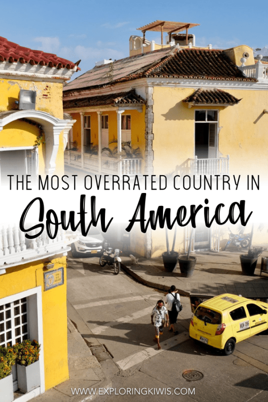 Colombia was our least favourite country in South America. After six months of hearing how amazing it was, find out why we thought Colombia was the most overrated country in all of Latin America #colombia #southamerica #travelguide
