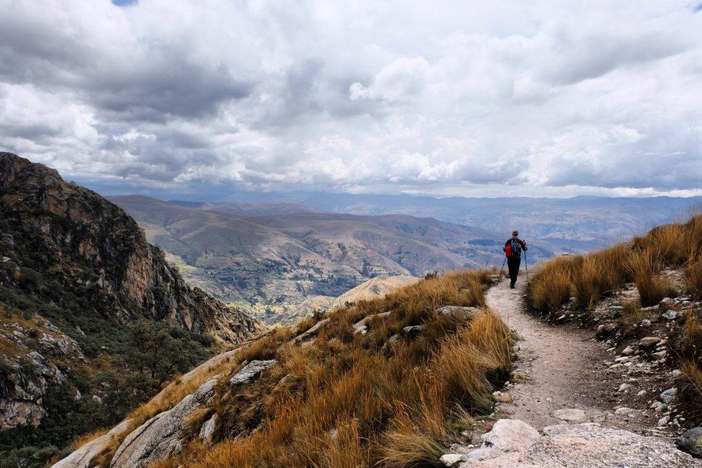 Laguna Churup hike view Peru