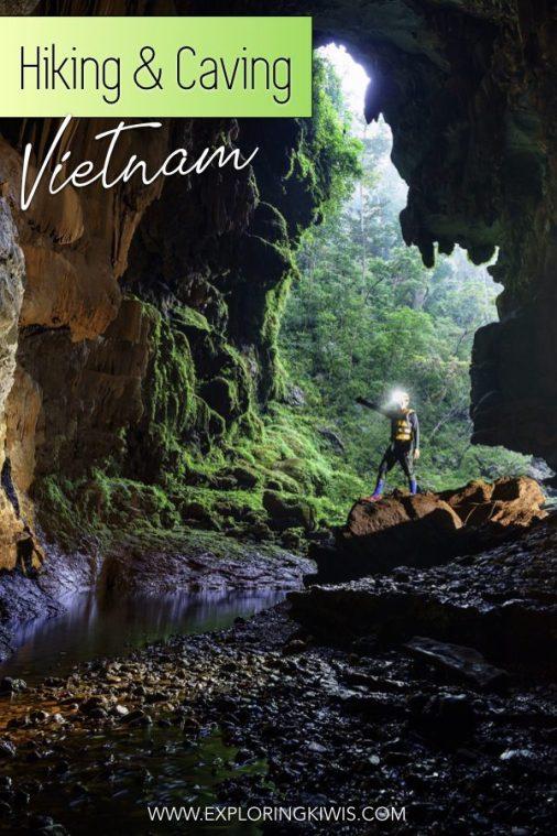 Phong Nha Caves | Tiger Caves | Adventure in Vietnam | Phong Nha–Ke Bang Nation | Hiking | Caving | South-East Asia | Central Vietnam | Vietnam Vacation | Vietnam Holiday #travel #vietnam #adventure #caving