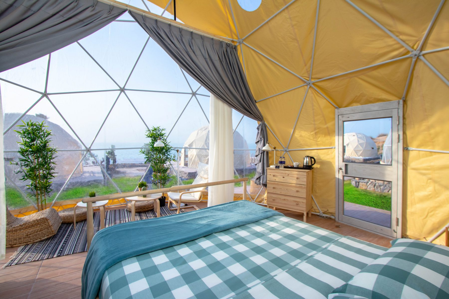 Glamping at Longbeach Campground - Luxe Adventure in the UAE