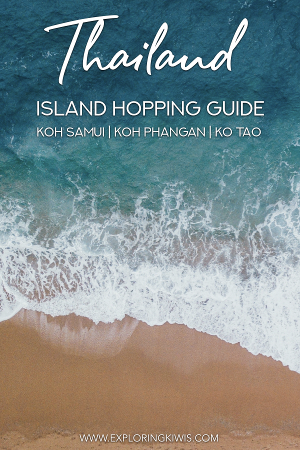 Thailand is celebrated for its beautiful islands - each of them though is significantly different, so where should you travel to? This Thai island guide explains the differences between Koh Samui, Koh Phangan and Ko Tao and helps you plan an incredible vacation.  Which island paradise will you choose? #travel #thailand
