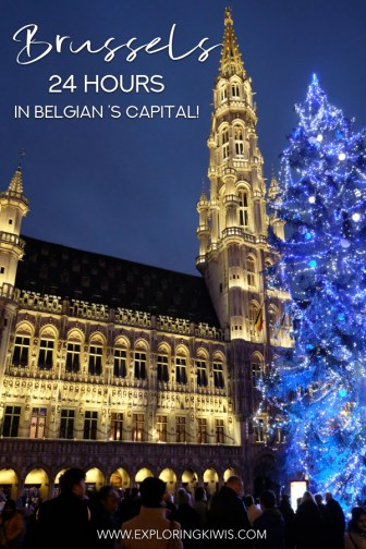 Brussels is a beautiful city and as it's flat and easy to navigate, it's the perfect self-guided walking spot! This guide brings you the best of Brussels' attractions, along transport and accommodation suggestions. Maximise your time in Belgium's capital and get ready for a perfect city getaway! #travel #belgium #walkingtour #brussels