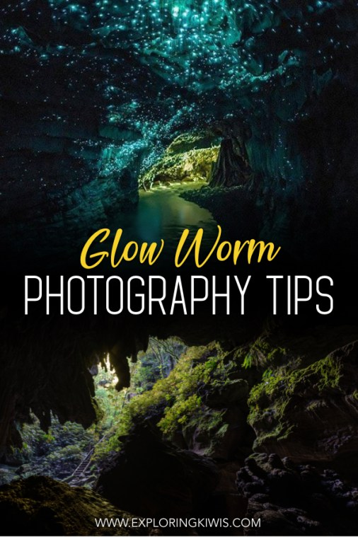 New Zealand is home to beautiful glow worm colonies but they can be difficult to photograph properly (and the commercial Waitomo Caves don't even allow cameras). Find out where you can access a private set of caves on a photography tour and read our tips to make the most of the opportunity. #travel #photography #newzealand
