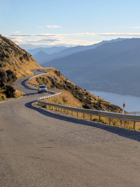 driving in NZ - Queenstown