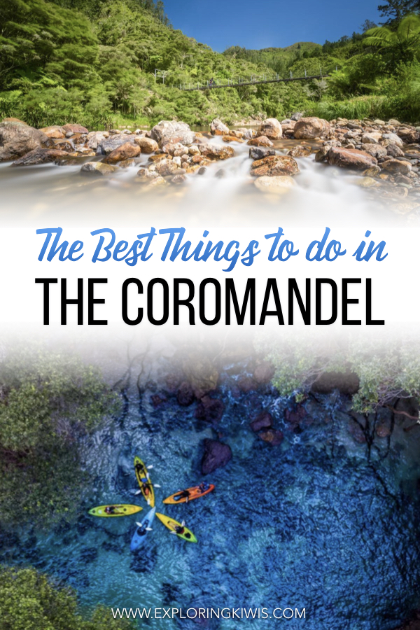 The Coromandel is a beautiful part of New Zealand, just waiting to be discovered on a road trip. Our guide shares the top 18 things to do in the region; including amazing beaches, waterfalls, hikes and islands - it\'s all here. #nztravel