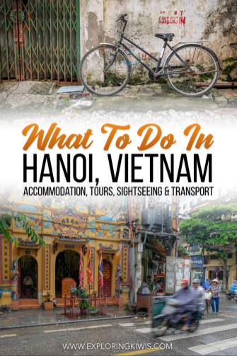 Hanoi is busy, beautiful and full of history and culture. This guide suggests hotels, tours, sightseeing, transport and the best places to eat. The only question is, what will you do first? #Vietnam #travel