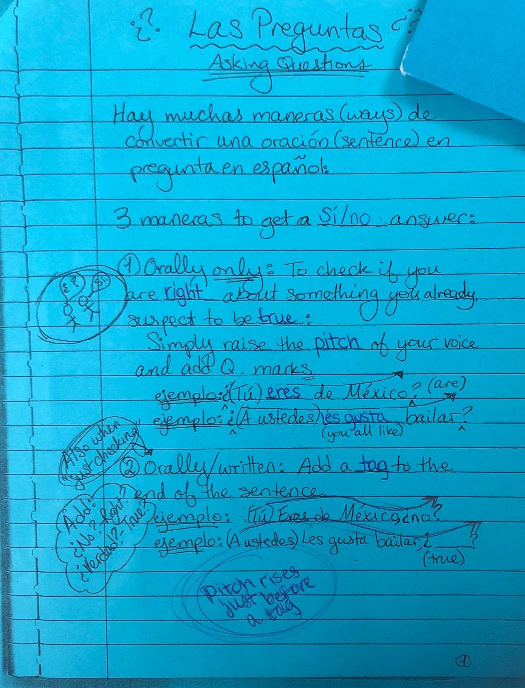 Spanish 1 Resources Mi Vida