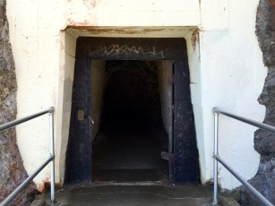 Hand-Carved Rock Tunnel to Point Bonita Lighthouse