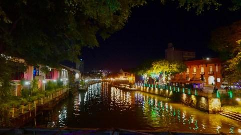 Malacca by night
