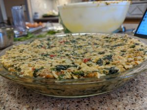 Hot Pepper and Sausage Quiche - Ready to Bake