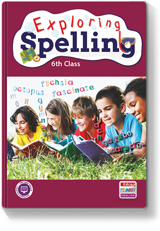 Exploring Spelling 6th class cover