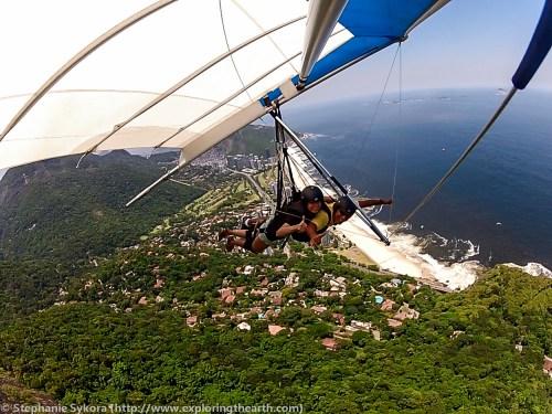 Hang Gliding in Rio de Janeiro Brazil Adventure Travel Adrenaline South America