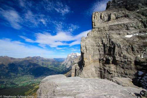 Switzerland Europe Alps Jungfrau Lauterbrunnen Swiss Travel Adventure Mountains Glacier Rock Climbing Via Ferrata Snow Geology Formation Plate Tectonics Photography Folds Compression Layers Layered Limestone