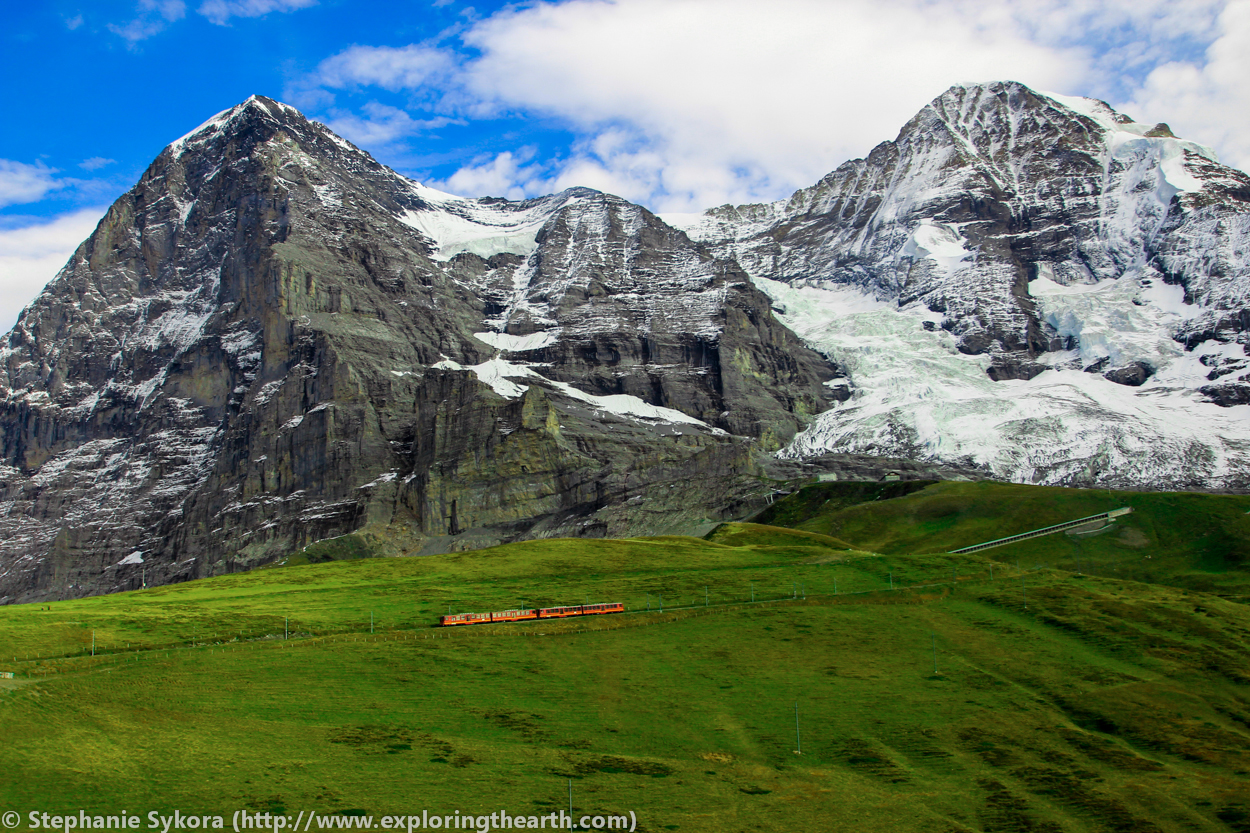 How the Alps assembled; Mountain building 101 [Switzerland ...