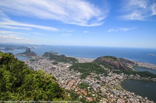 Rio de Janeiro View City Ocean sugarloaf travel adventure brazil South America