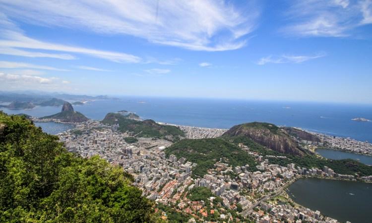Rio de Janeiro View City Ocean sugarloaf travel adventure brazil
