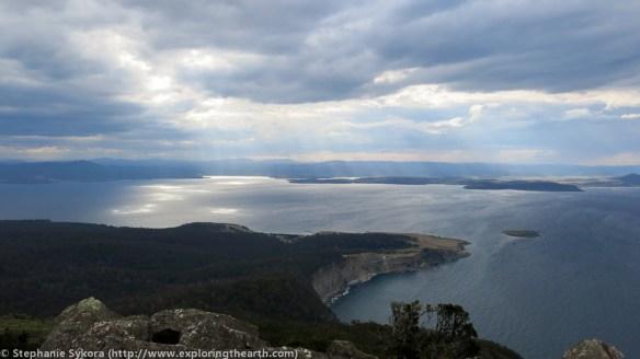 Maria Island, Maria, Tasmania, Australia, geology, travel, blog, adventure, hiking, exploring, earth, science, rocks, nature, geomorphology, dolerite, jurassic, bishop and clerk, hike, view