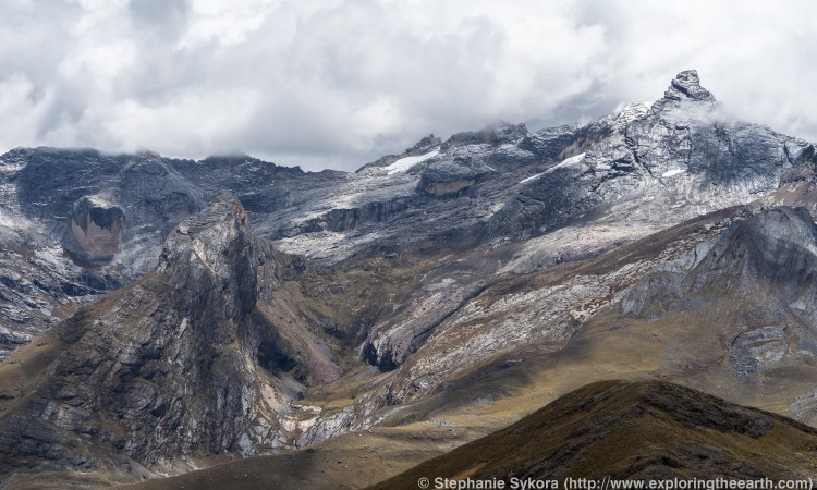 Andes Mountains Peru Map.Working Up High The Peruvian Andes Exploring The Earth