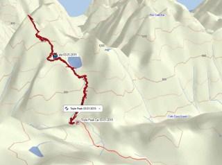 Triple Peak Map