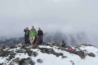 Queen Peak summit shot