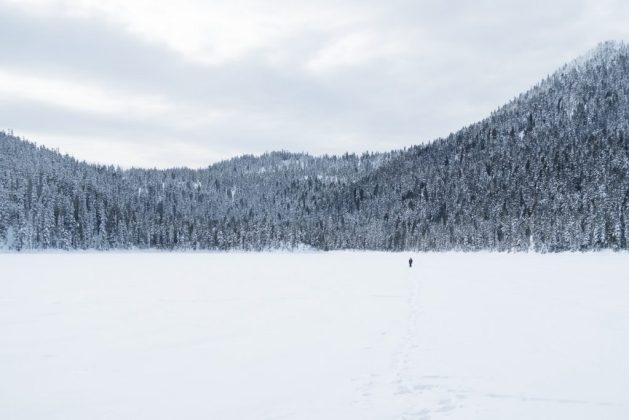 snowshoeing, mount washington, snowshoing vancouver island, matthew lettington