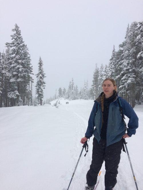 Hiking on Vancouver Island, Ski touring on Vancouver Island